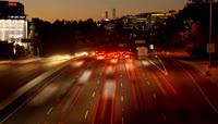 城市高速公路交通车流\-快速