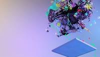 动感十足舞蹈机械3D色彩欢快