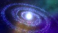 动感 彩色 梦幻银河系星云