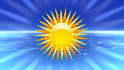 太阳与海面
