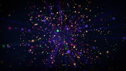 LED_NO3\-绚丽粒子