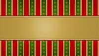 流光风格圣诞喜庆边框
