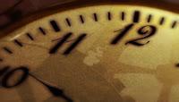 怀旧钟表时间流逝唯美背景
