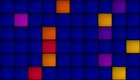 扁平风格方块流动唯美背景