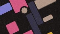 扁平风格炫彩方块唯美背景