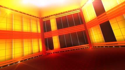 鎏金舞台绚丽背景