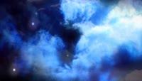 唯美粒子星空宇宙背景