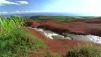 小溪水特写自然风光美景高清实拍视频素材