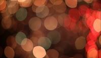 灿烂的烟花 晕开的火花效果 高清实拍视频素材