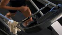跑步机跑步健身运动 \(4\)