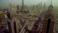 世界第一高楼城市建筑哈里发塔\-迪拜塔特写镜头高清实拍视频素材 \(1\)