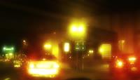 唯美马路穿梭灯光加速延时实拍高清视频素材