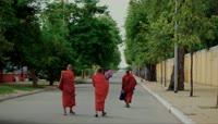 柬埔寨泰拳比赛微笑雕像街头人文地理风情景观