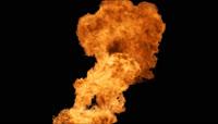 火焰爆炸酷炫转场特效