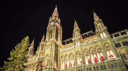 延时摄影欧洲21个国家著名旅游景点名胜建筑夜景国外高清实拍素材