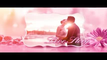 唯美的粉色婚礼相册