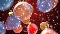 用于装饰节日的彩球高清视频素材3段3
