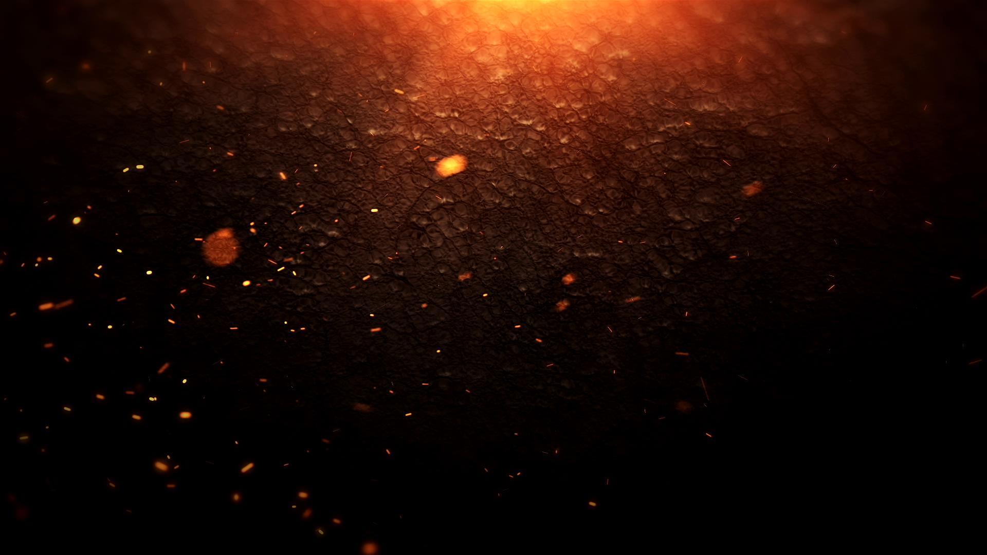 大气粒子视频