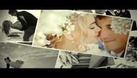 婚礼相册图片墙