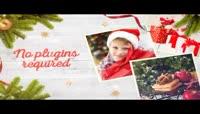 美好的圣诞家庭相册