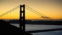 日出时分素材 Golden Gate Sunrise