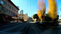 延时拍摄城市中的交通车流高清实拍视频素材1