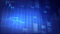 股票走势图样分析高清背景视频素材1