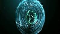 流光风格3D炫彩激光束定格动画酷炫背景