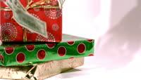喜庆圣诞节延时拍摄实拍素材