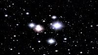 粒子风格宇宙星河唯美背景