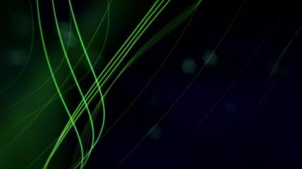 流光风格3D激光束流动酷炫背景