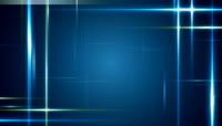 游走蓝色光线空间素材 Linear Interlude HD