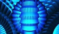 蓝色霓虹背景素材 \(3\)