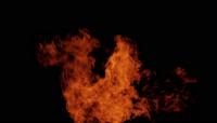 高清视频素材 火球 爆炸的火焰 喷射的火焰1