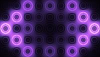 辉光圆圈背景素材 紫色风格VJ Purple Glowing Discs \(1\)