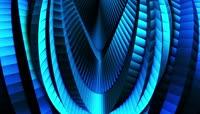蓝色霓虹背景素材 \(1\)