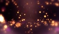 梦幻粒子雨粒子瀑布素材