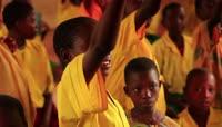 4K非洲肯尼亚黑人学生上课学习课堂教学2