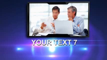 会声会影X6模板 商务宣传片头2