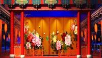 戏曲中国风黄梅戏类LED视频素材
