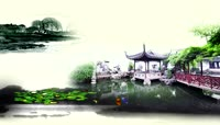 水墨 \-池塘(中国风)