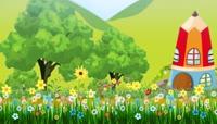 童话故事卡通儿童节目背景