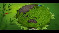 绿色环保地球视频素材素材