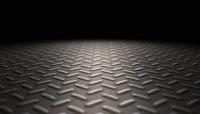 工业金属钢板地面动态视频素材