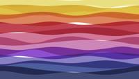 彩条动态视频素材片头模板