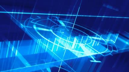 LED高清视频 高科技旋转LED视频素材