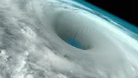 航拍巨型龙卷风实拍视频