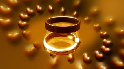 婚礼背景视频素材