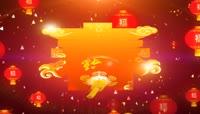 开春通用开场 LED舞台背景