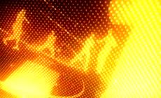 动感跳舞舞蹈剪影LED动态背景视频